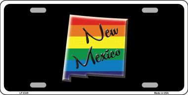NEW Mexico Rainbow Wholesale Metal Novelty License Plate LP-6345