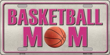BASKETBALL Mom Novelty Wholesale Metal License Plate LP-1175