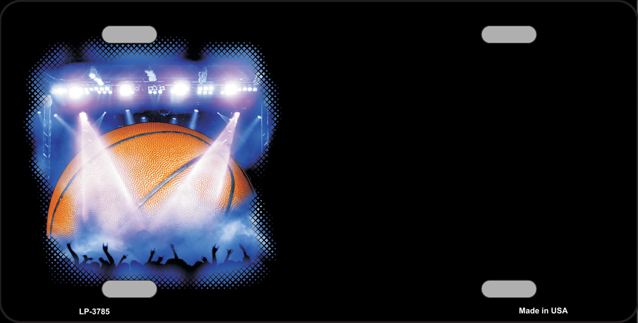 BASKETBALL Game Offset Wholesale Metal Novelty License Plate LP-3785