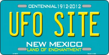 UFO Site NEW Mexico Novelty Wholesale Metal License Plate LP-6673