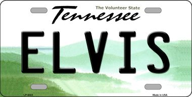 ELVIS Tennessee Novelty Wholesale Metal License Plate LP-6422