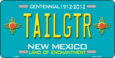 Tailgtr NEW Mexico Novelty Wholesale Metal License Plate LP-6665