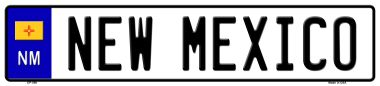 NEW Mexico Novelty Wholesale Metal European License Plate EP-099