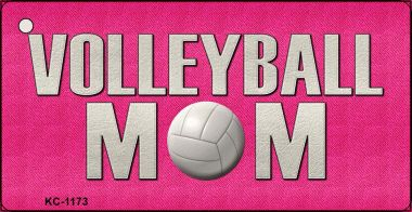 VOLLEYBALL Mom Wholesale Novelty Key Chain KC-1173