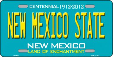 NEW Mexico State Novelty Wholesale Metal License Plate LP-6670