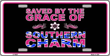 Southern CHARM Wholesale Metal Novelty License Plate LP-5027