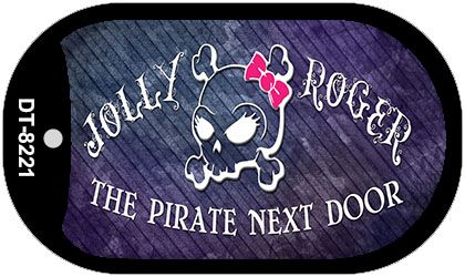 The Pirate Next DOOR Wholesale Novelty Metal Dog Tag Kit DT-8221