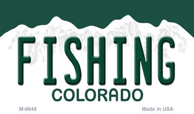 FISHING Colorado State Magnet Novelty Wholesale M-9948